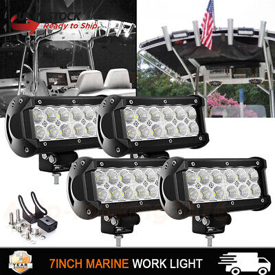 TACO LED Marine Spreader Light Lamp 4X4 Truck Jeep ATV Jon Flat Air Boat Green
