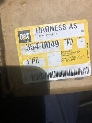 New Caterpillar 354-0049 Wiring Harness Assembly C15 C18 3540049