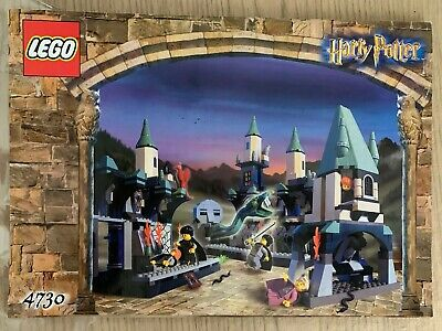 LEGO 4730 Harry Potter The Chamber of Secrets 100% Complete Manual, Damaged Box