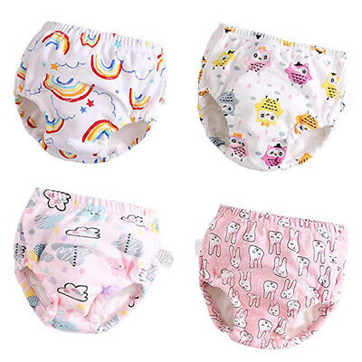 Baby Toddler Reusable Waterproof Nappy Cloth Diaper Cover Wrap Pants Absorbent