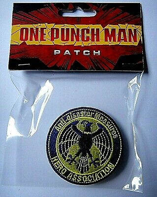 One Punch Man Anime S-Class Hero Embroidered Patch