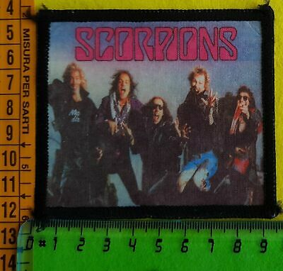 SCORPIONS Heavy Metal Rock Band TOPPA PATCH PARCHE TOPPE JEANS  L2#N11
