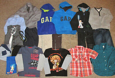 Boys Clothes Bundle. Age 6-7 Years & 7 Yrs. Next, M&S & Gap. Hoodies Jeans Tops
