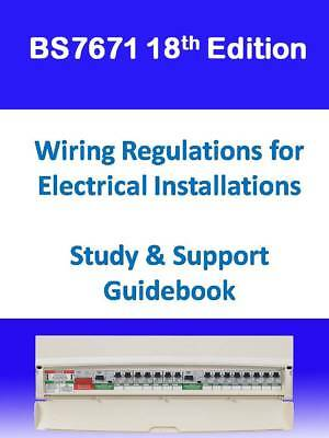 18th Edition BS7671 IET Wiring Regulations Home Study Question & Answers x 650