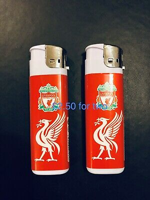 2 Liverpool, You Will Never Walk Alone Lighters Refillable