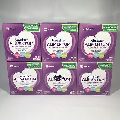 Similac ALIMENTUM Hypoallergenic Infant Formula Powder (6 - 7oz Cans) Exp 4/1/22