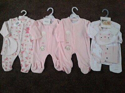 Bundle of baby girls clothes size 0-3 months BNWT