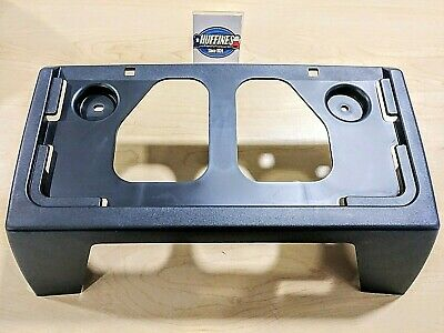 New Front License Plate Bracket - 2004-2012 Chevrolet Colorado GMC Canyon