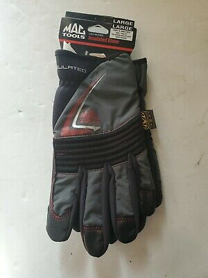 XXL Mechanix Wear Cold Weather Fastfit Insulated Winter Handschuhe Schwarz Gr