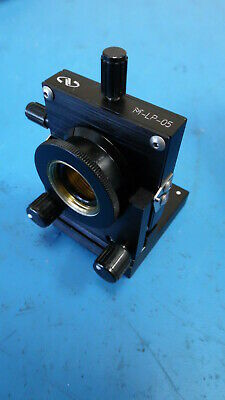 Newport M-Lp-05 Metric Lens Positioner & M-Bp-4 Base