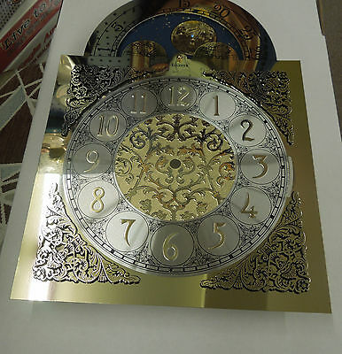 Grandfather Clock Dial For Hermle 1151-050 Chain Driven Triple Chime Movement