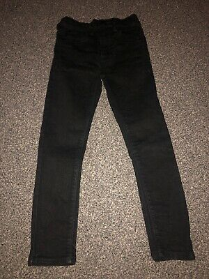 Boys Next Age 6 Skinny Jeans Worn Twice Black