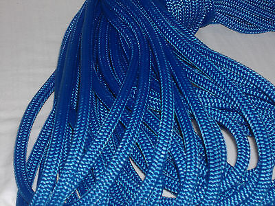 3/8x150  feet Double Braid Nylon BLUE ROPE Anchor Dock Hoist Winch  Lift