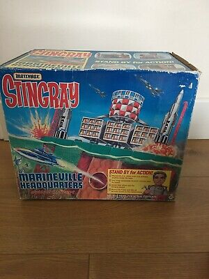 Matchbox Gerry Anderson Stingray Marineville Headquarters Action Playset BOXED