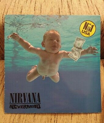 NIRVANA Nevermind LP Insert Spain 1991 5C GEF 24425