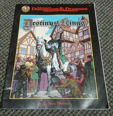 Destiny of Kings - Advanced Dungeons & Dragons - 2E - 2nd Edition TSR 11377