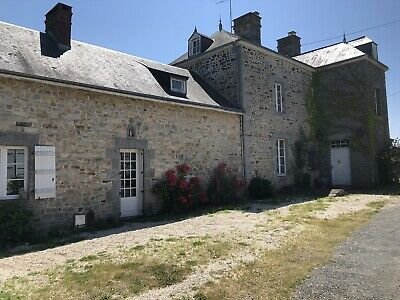 French Manor House For Sale. Swimming Pool, 8 Acres Land.