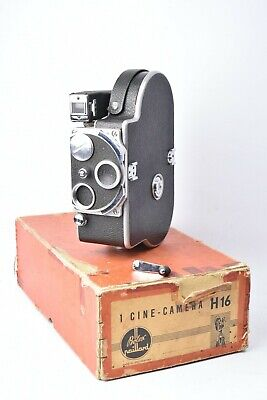 Camera Cinema Paillard Bolex H16. Camera Nue. with Box Original