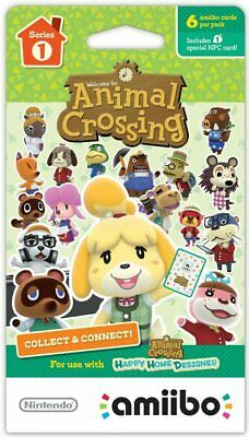 You Pick - Unscanned - Individual Animal Crossing Amiibo Cards Series 1 (1-100)