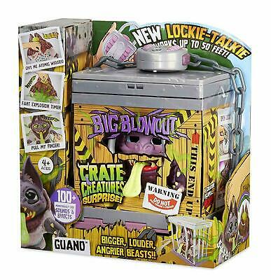 Crate Creatures Surprise Big Blowout Guano with Lockie Talkie and 100+ Sounds