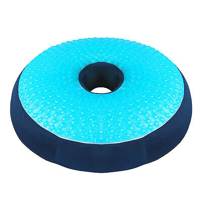 Coccyx Relief Gel Cushion Donut Pillow for Hemorrhoid & Injury Pain Relief