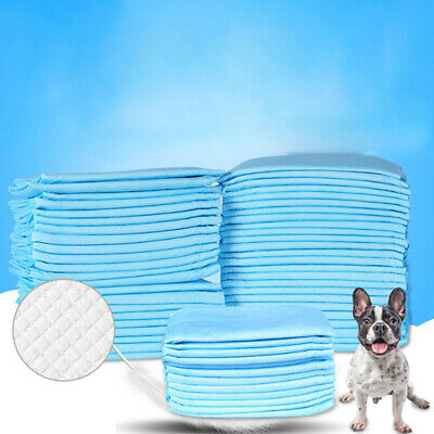 Pet Puppy Training Pee Pad For Dog Cat Disposable Absorbent Odor Reducing M FePF