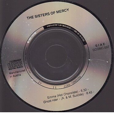 """DISC ONLY - Life (Emma/Ghost Rider) by The Sisters of Mercy (3"""" CD 1988) Austria"""