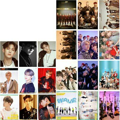16pcs ATEEZ  Album LOMO Card TREASURE EP.FIN ALL TO ACTION Photo Card PictRF3V