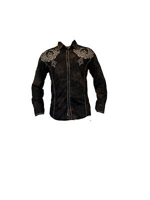ROAR MENS EMBROIDERY SHIRT Brand New With Tags BEST PRICE ON EBAY NOW OR NEVER