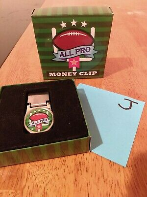 All pro money clip great for the football fan brand new in box