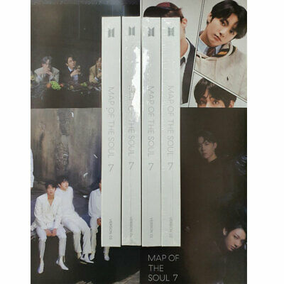 BTS MAP Of THE SOUL:7 Album CD+Photo Book+Photo Card+Post Card+Sticker+Poster