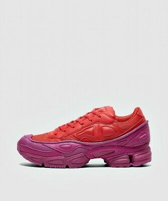 Mens Raf Simons X Adidas Ozweego Glow/Red Trainers (LF2) RRP £319.99