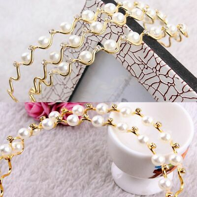 Chic Rhinestone Fashion Headband Hair Band Hairband Wedding Bridal Accessories