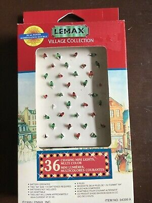Lemax Village 36 CHASING MINI LIGHTS MULTI COLOR #94399A