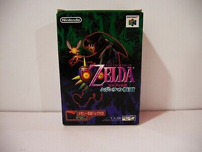 The Legend of Zelda Majora's Mask Memory Expansion Pack Nintendo 64 N64 Jap