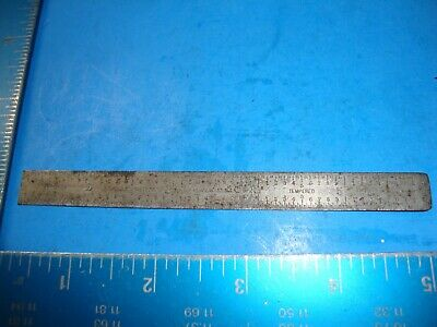 LS STARRETT USA No C316R Tempered Steel Rule
