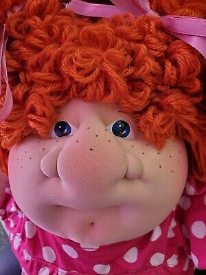 Xavier Roberts Cabbage Patch Kid Soft Sculpture CPK 2012 Big Nose Girl w/Dimple