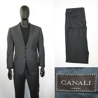 Men/'s Suit Compose/'4 button Made In Italy art.121415 Wide Leg Pants Blend Wool