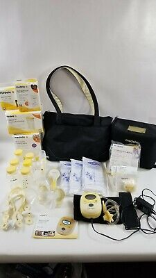 Medela Freestyle Hands-Free Breast Pump & Harmony Manual Pump & Accessories Lot
