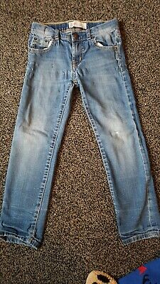 Levis 510 skinny Faded Jeans Age 6