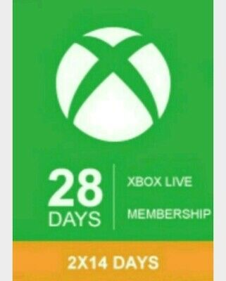 Xbox Live Gold 28 Days - Trial (2 Codes 14 Day) Worldwide  - Almost 1 Month