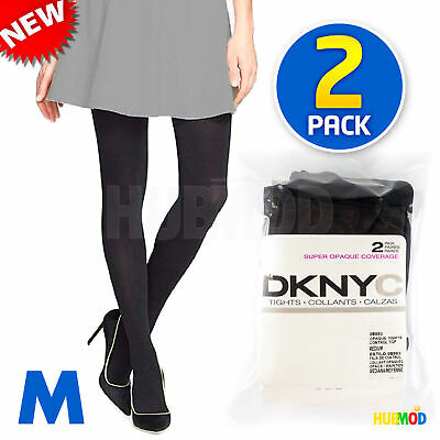 Plum 4 Pair #14 Med NWOT Womens DKNY The Nudes Control Top Pantyhose Currant