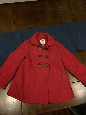 Old Navy Girls Red Coat 5t