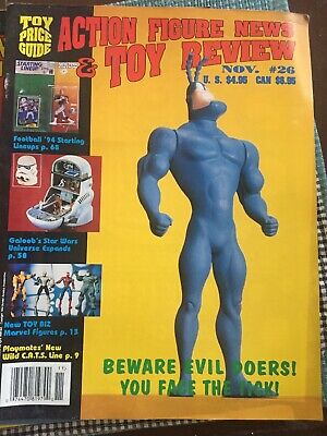 Action Figure News & Toy Review Magazine Lot Of 5 Including 1994, 1995, 1997
