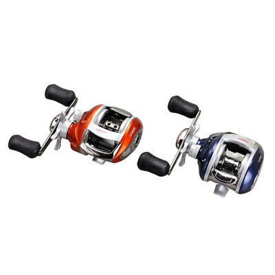 Baitcasting Reel 12+1BB Bearing Fishing Reel CNC Machined Gear Stainless Steel