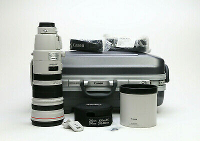 Canon EF 200-400mm f/4L IS USM Extender 1.4x Lens *Excellent Condition!*