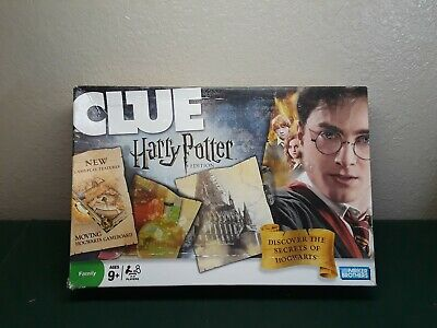Clue Harry Potter Edition Board Game, Parker Brothers, pre-owned, Complete