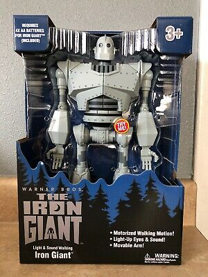 Iron Giant figure Large New walks lights/sound Walmart exclusive. Fast Shipping