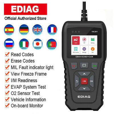 OBD2 Code Reader Car Diagnostic Scan Tool Check Engine Light as LAUNCH CR319