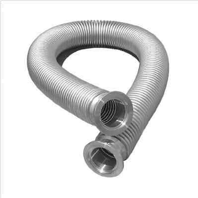 "36/"" High Vacuum SS ISO KF50 Bellows Flexible Pipe Vacuum Corrugated Hose 914mm"